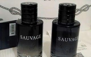 Туалетная вода Dior Sauvage Как отличить оригинал от подделки