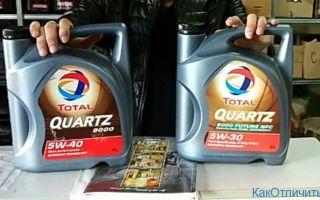 """Масло """"Total Quartz"""": оригинал и подделка"""