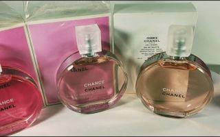 Как отличить оригинальную туалетную воду Chanel Chance Eau Tendre