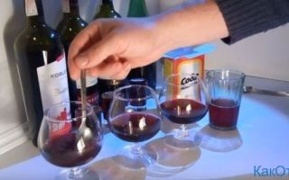 Натуральное вино проверка в домашних условиях