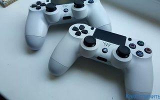 Как отличить подделку геймпада Dualshock 4