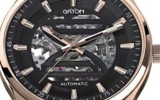 Часы Gryon как отличить подделку