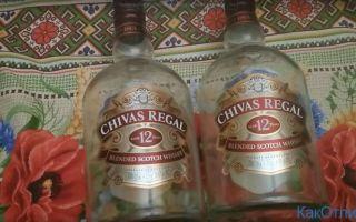 Chivas Regal как отличить подделку