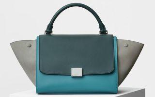Как отличить подделку сумки «Celine»