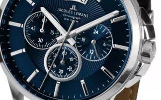 Часы Jacques Lemans как отличить подделку
