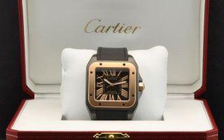 Часы Cartier как отличить подделку