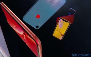 В чем отличие iPhone Xs  от iPhone Xr