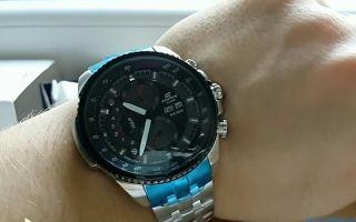 Как отличить оригинальные часы Casio Edifice от поддельных