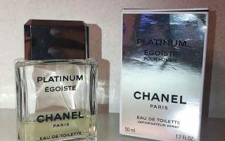 Как отличить оригинал Chanel Egoiste platinum от подделки