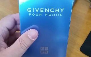 Как отличить оригинальный мужской аромат Givenchy Pour Homme Blue Label