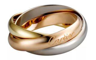 Как отличить оригинальные кольца Cartier