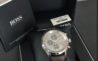 Часы Hugo Boss: как выявить подделку