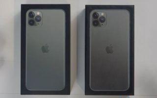 iPhone 11 Pro Max как отличить подделку