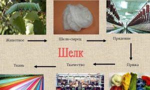 Натуральный или искусственный шелк: как отличить