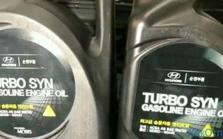 Hyundai Turbo SYN как отличить подделку