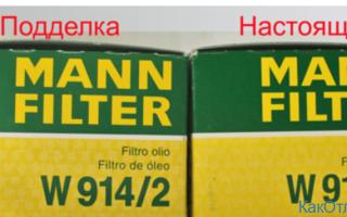 Фильтры MANN: как отличить оригинал от подделки