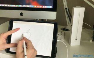 Что умеет Apple Pencil