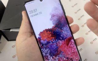 Как отличить подделку Samsung S20 Ultra
