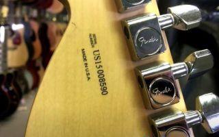 Fender Stratocaster как отличить подделку