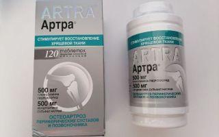 Как отличить таблетки Артра (ARTRA) от подделки