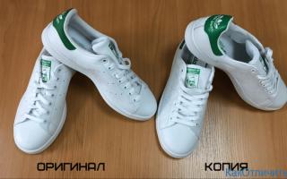 Как отличить оригинальные кроссовки Adidas Stan Smith от подделки