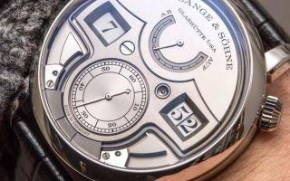 Как отличить оригинальные часы Ланге от подделки