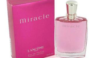 Как отличить подделку духов Miracle Lancome