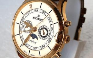 Часы Accurate Швейцария: как отличить оригинал от подделки