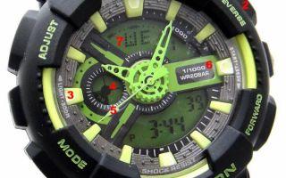 Как отличить часы G-SHOCK от подделки