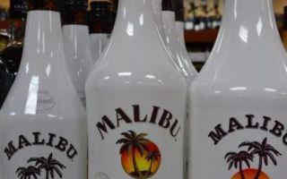 Как отличить подделку ликера Malibu