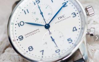 Часы IWC: отличаем подделку