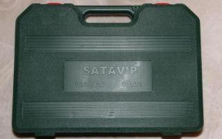 Наборы инструментов SATA как отличить подделку