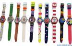 Часы Swatch как отличить подделку