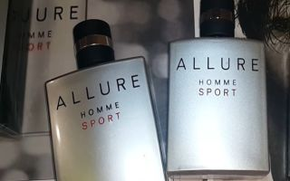 Парфюм Chanel Allure Homme Sport оригинал или подделка