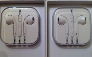 Как отличить наушники APPLE EarPods от подделки
