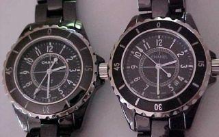 Часы Chanel как отличить оригинал от подделки