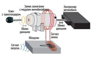 Как работает иммобилайзер в автомобиле
