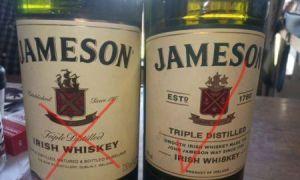 Виски Jameson как отличить подделку (новая бутылка)
