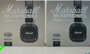 Marshall Major 2 Bluetooth: как отличить подделку наушников