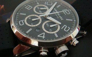 Часы Montblanc как отличить подделку
