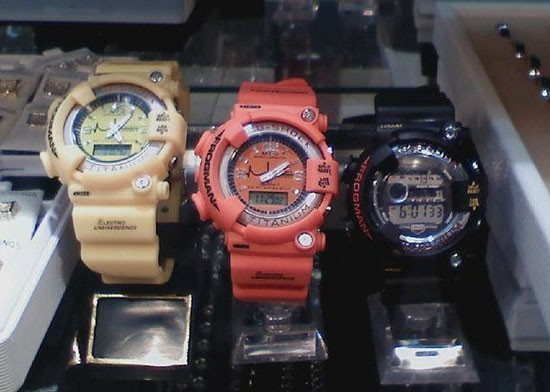 Подделки G-Shock