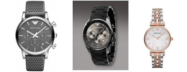 Линейный ряд часов Giorgio Armani