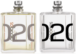 Слева — Escentric 02. Справа — Molecules 02.