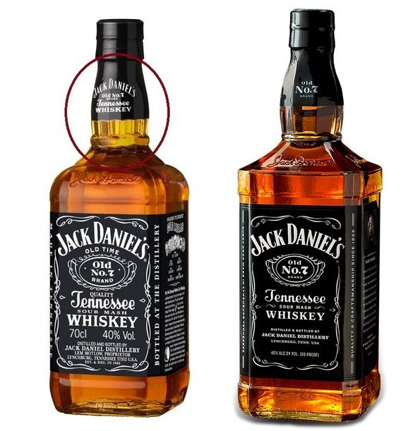 Как отличить поддельный виски JackDaniels