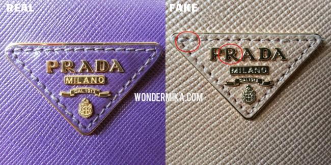 Как отличить сумку PRADA