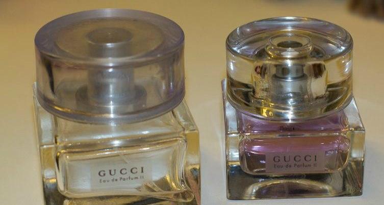 Подделка духов «Gucci»