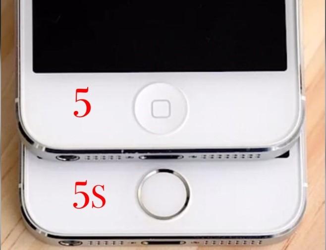iPhone 5 от 5S отличия точпада
