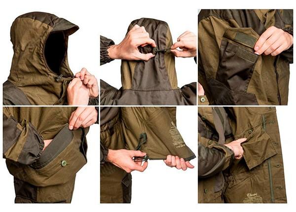 Проверка качества швов и материалов костюма горка