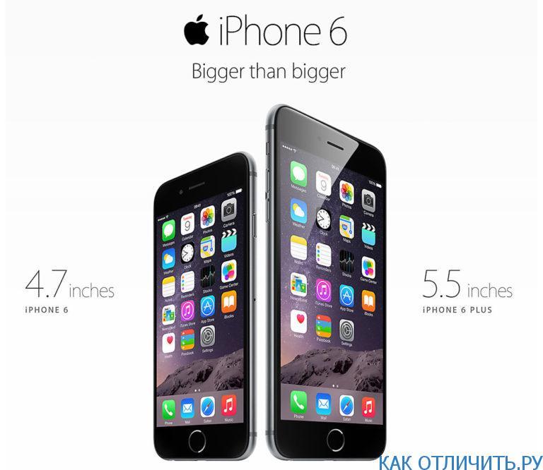 iPhone 6: как отличить подделку