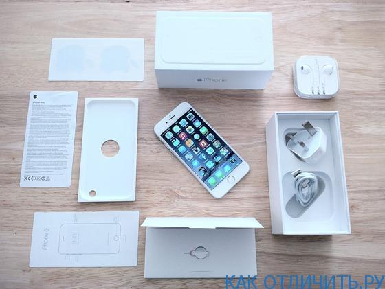 iPhone 6: как отличить оригинал от подделки